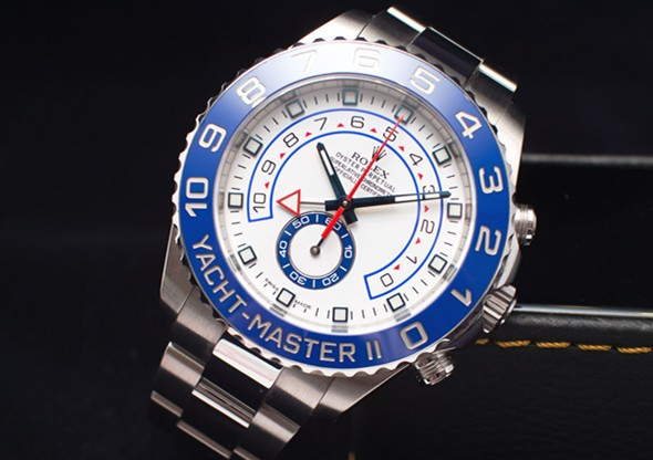 Rolex Yacht-Master II 1166800 Stainless Steel White Dial