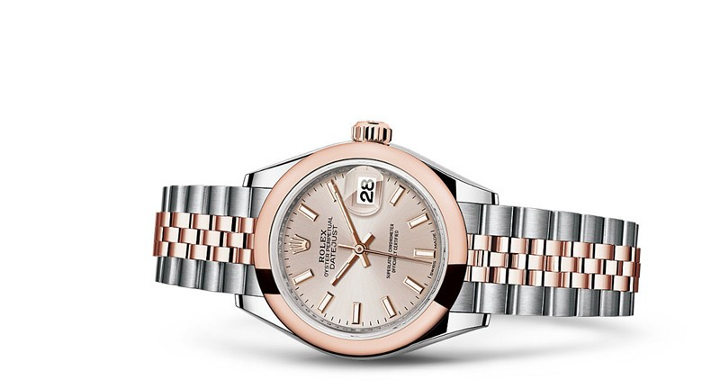 Rolex Datejust Ladies 279161-0001 Swiss Automatic Sundust Dial 28MM