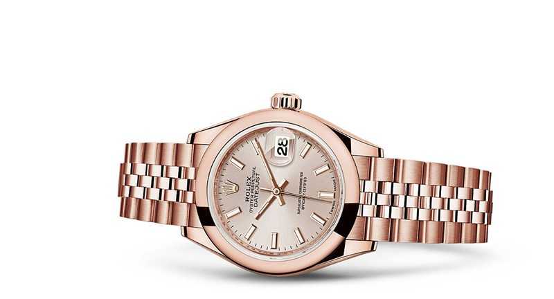 Rolex Datejust Ladies 279165-0003 Swiss Automatic Rose Gold 28MM
