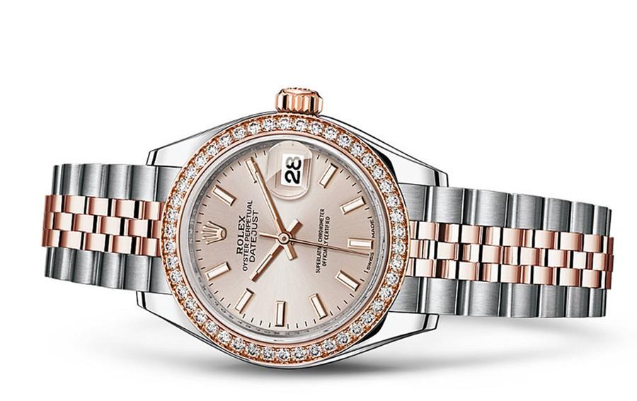 Rolex Datejust Ladies 279381-0001 Swiss Automatic Sundust Dial 28MM