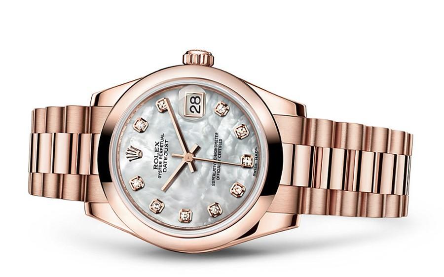 Rolex Datejust Ladies 178245f-0026 Swiss Automatic MOP Dial 31MM
