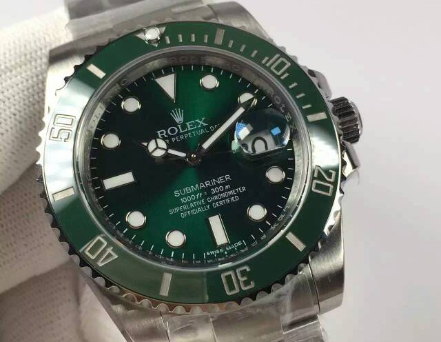 Rolex Submariner Swiss 3135 Automatic116610LN Green Dial