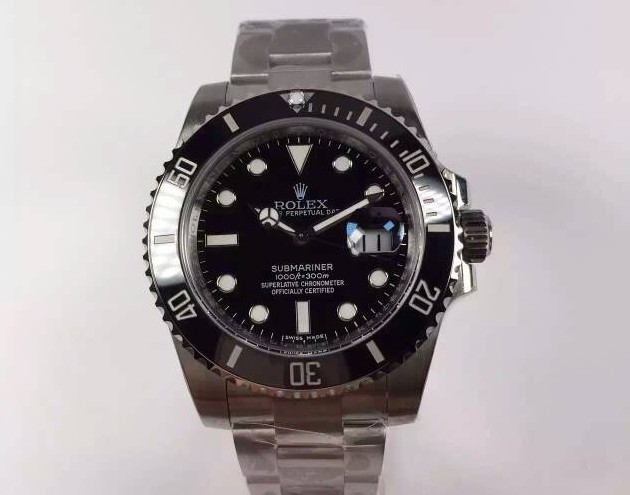 Rolex Submariner Swiss 3135 Automatic116610LN Black Dial