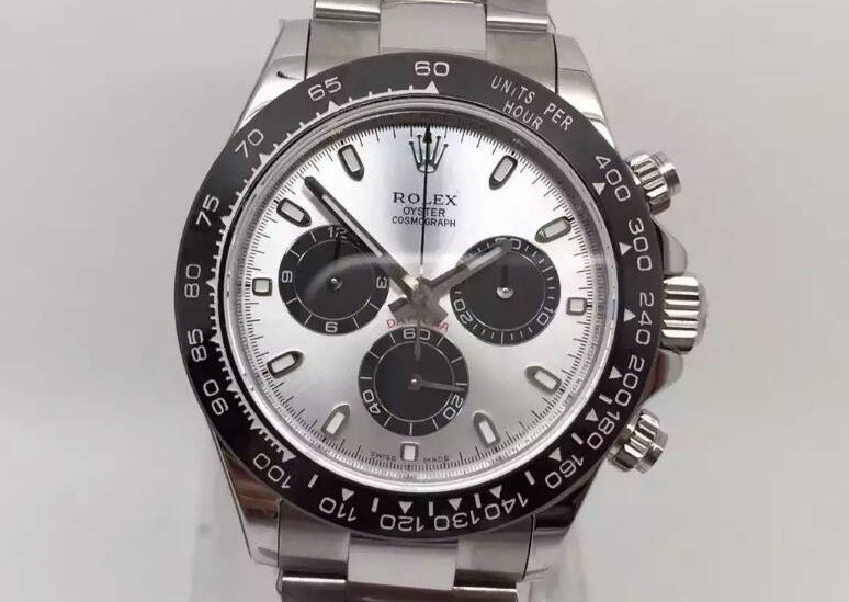 Rolex Daytona Cosmograph 2016 Swiss Chronograph Black Subdials