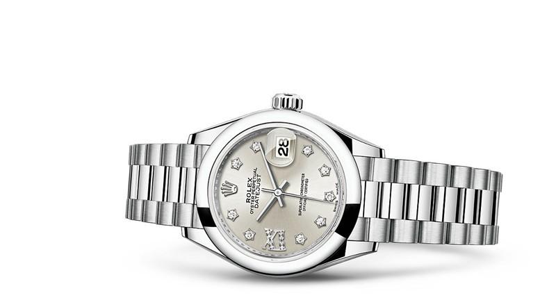 Rolex Datejust Ladies 279166-0001 Swiss Automatic Stars Hour Markers 28MM