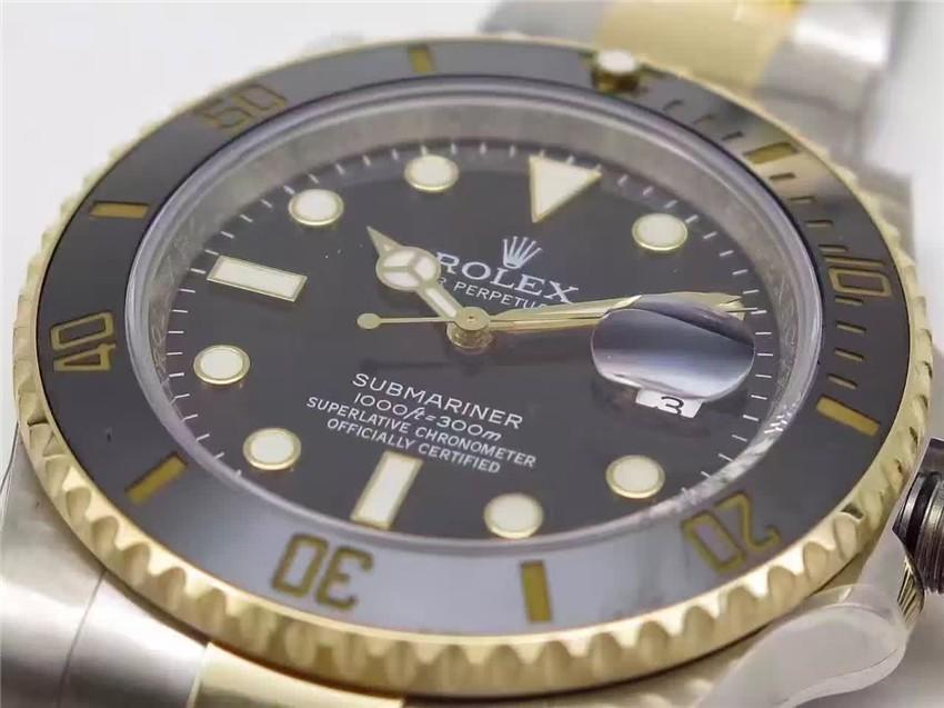 Rolex Submariner Swiss Automati Watch-Black Luminous Dial-Stainless Steel Strap
