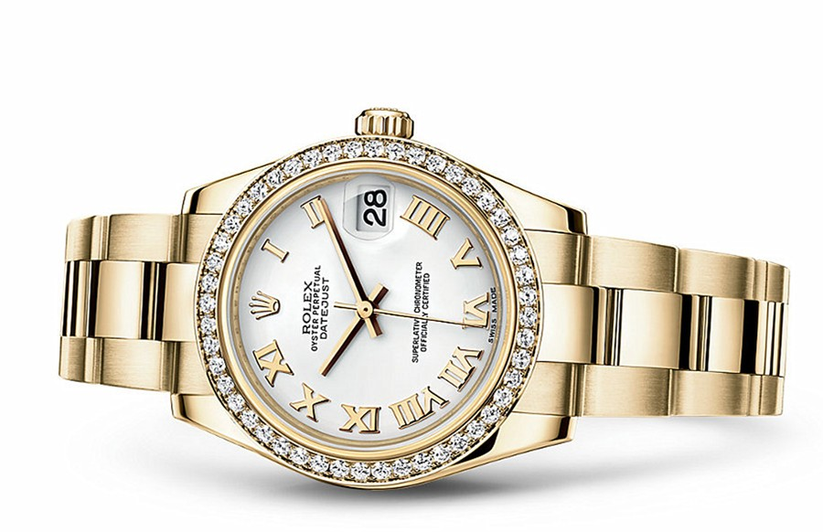 Rolex Datejust Ladies 178288-0082 Swiss Automatic White Dial 31MM