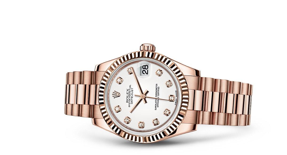 Rolex Datejust Ladies 178275f-0011 Swiss Automatic White Dial 31MM