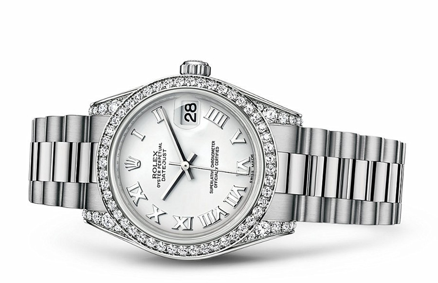 Rolex Datejust Ladies 178159-0066 Swiss Automatic White Dial 31MM