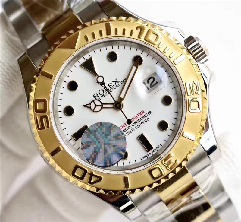Rolex Yacht-Master 2016 Swiss 2836 Automatic Watch Two Toned